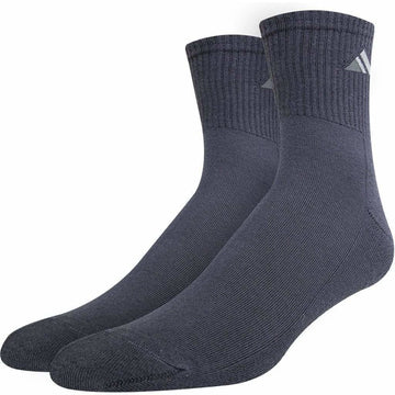 Men's Sports Socks, Grey Color, Anti Bacterial, Mercerized Cotton, Breathable, Moisture Wicking, Long Lasting and Seamless