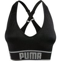 PUMA 2019 $14.99 Puma Womens Seamless Sports Bra Black Removable Cups