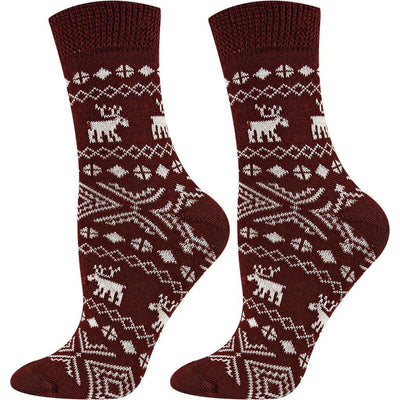 SOXESSORY 2018 $12.99 The Best Wool Socks With Christmas Ornaments