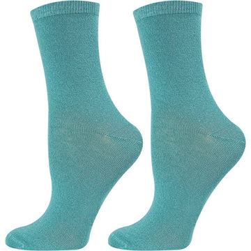 Turkish Cotton Socks Women Love - Mercerized Cotton from Turkey, Moisture Wicking, Long Lasting, Seamless and Comfortable