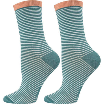 Womens Cotton Crew Socks, Seamless, Breathable, Easy To Wash, Long Lasting, Durable and Anti Bacterial