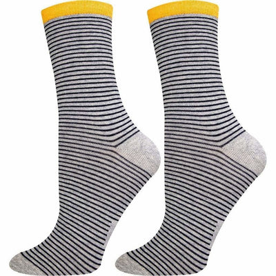 SOXESSORY 2018 $11.99 Womens Mercerized Cotton Crew Size Socks