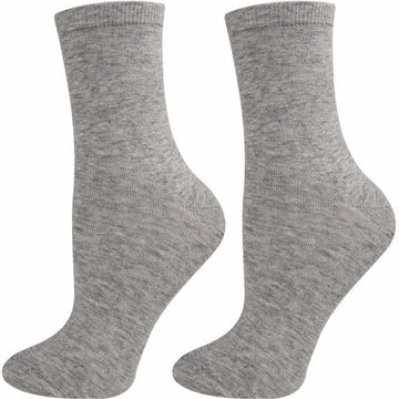 Women's White Color Socks, Breathable, Easy To Wash, Comfortable, Mercerized Cotton, Hand Linked and Seamless