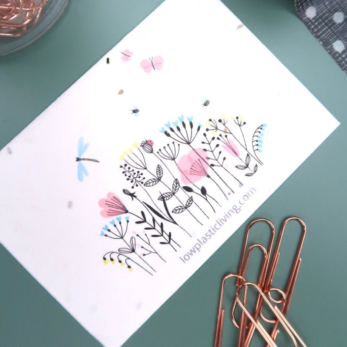 Plantable Cards Seeded Paper Greetings Cards
