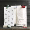 set of paper Christmas gift sack
