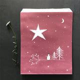 Christmas Gift Wrap Set - Large (Star Design Tape)