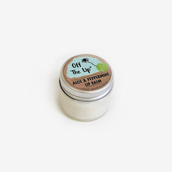 aloe & peppermint lip balm