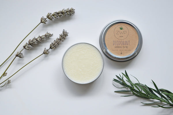 lavender and tea tree deodorant