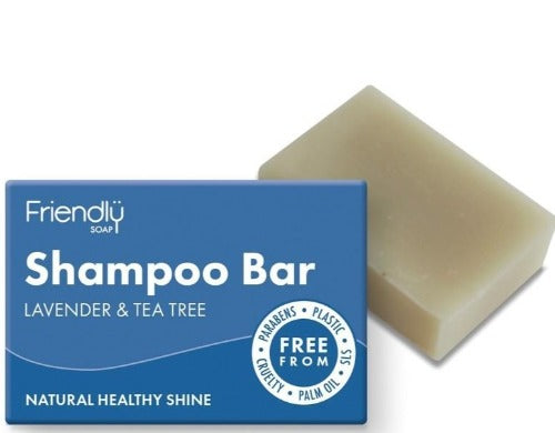 Shampoo Bar - Friendly Soap - Lavender & Tea Tree