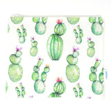 Round Cacti Bag- Ipad Sleeve/Toiletry/ Baby Bag