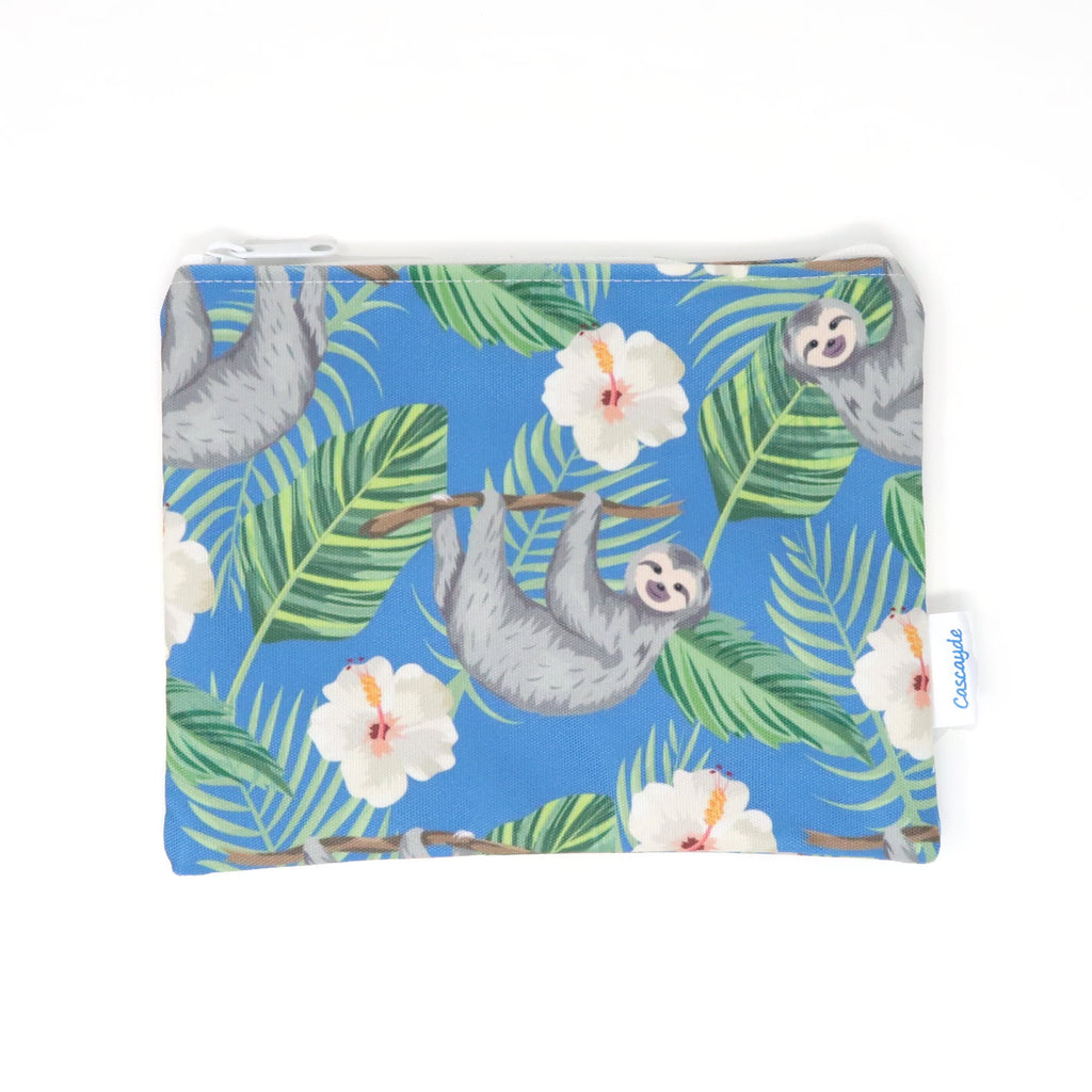 Sloth Zip Bag