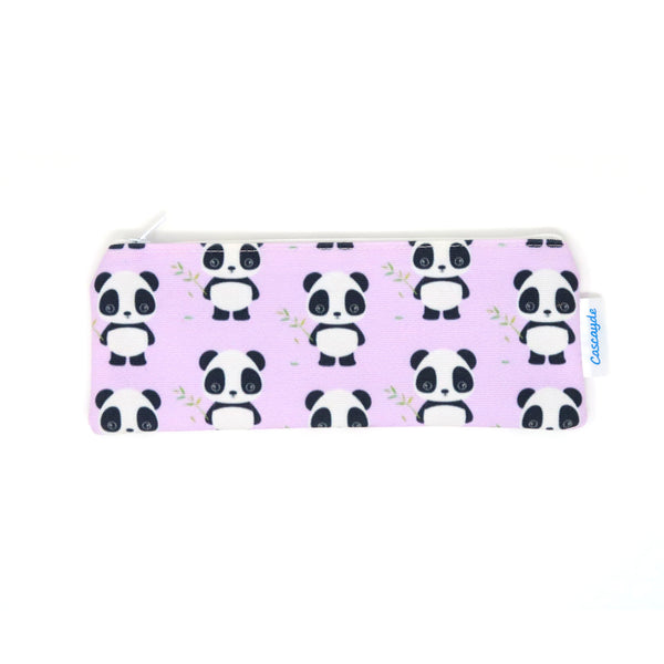 Panda long zip bag