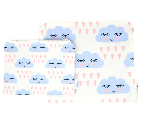Cloud Zip Bag