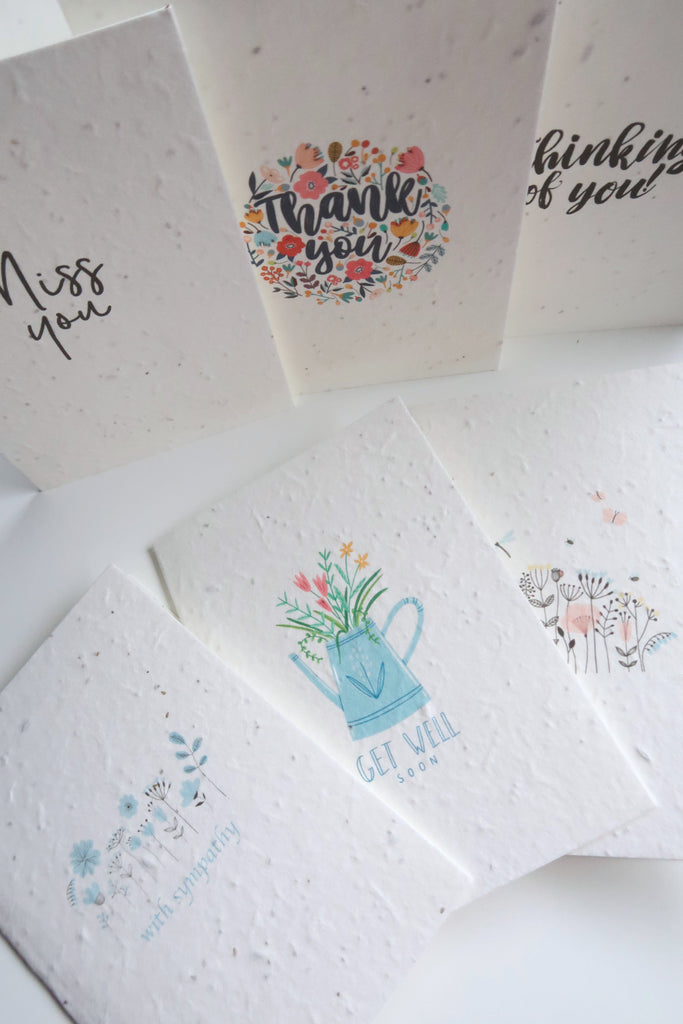 seed paper greeting cards
