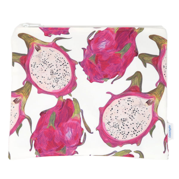 Large Dragonfruit Bag- Ipad Sleeve/Toiletry Bag/ Baby Bag