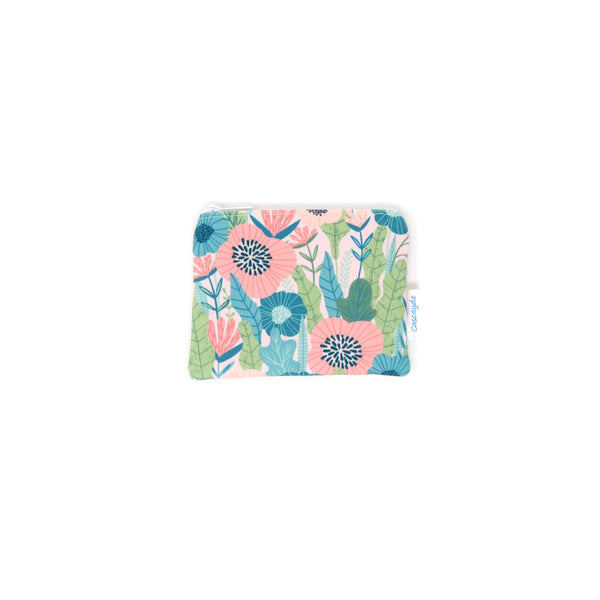 flower design coin purse