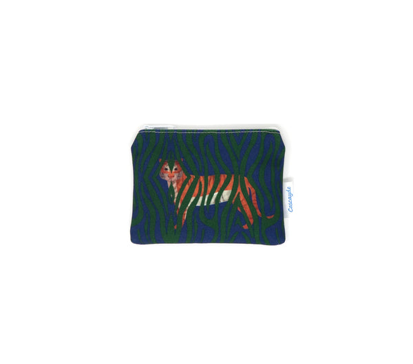 Jungle Tiger Coin Purse