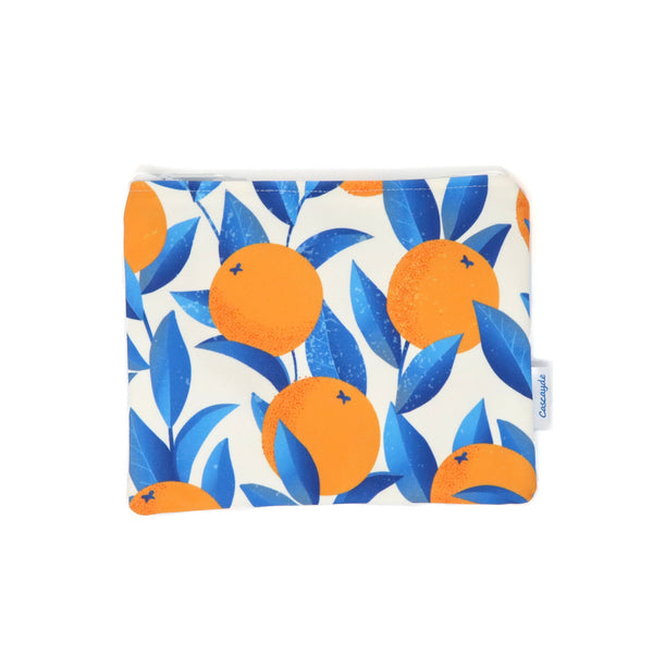 Oranges zip bag
