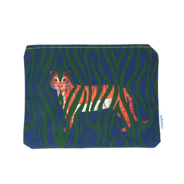 Jungle Tiger Zip Bag