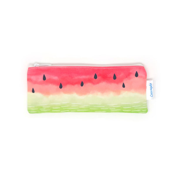 Watermelon long zip bag