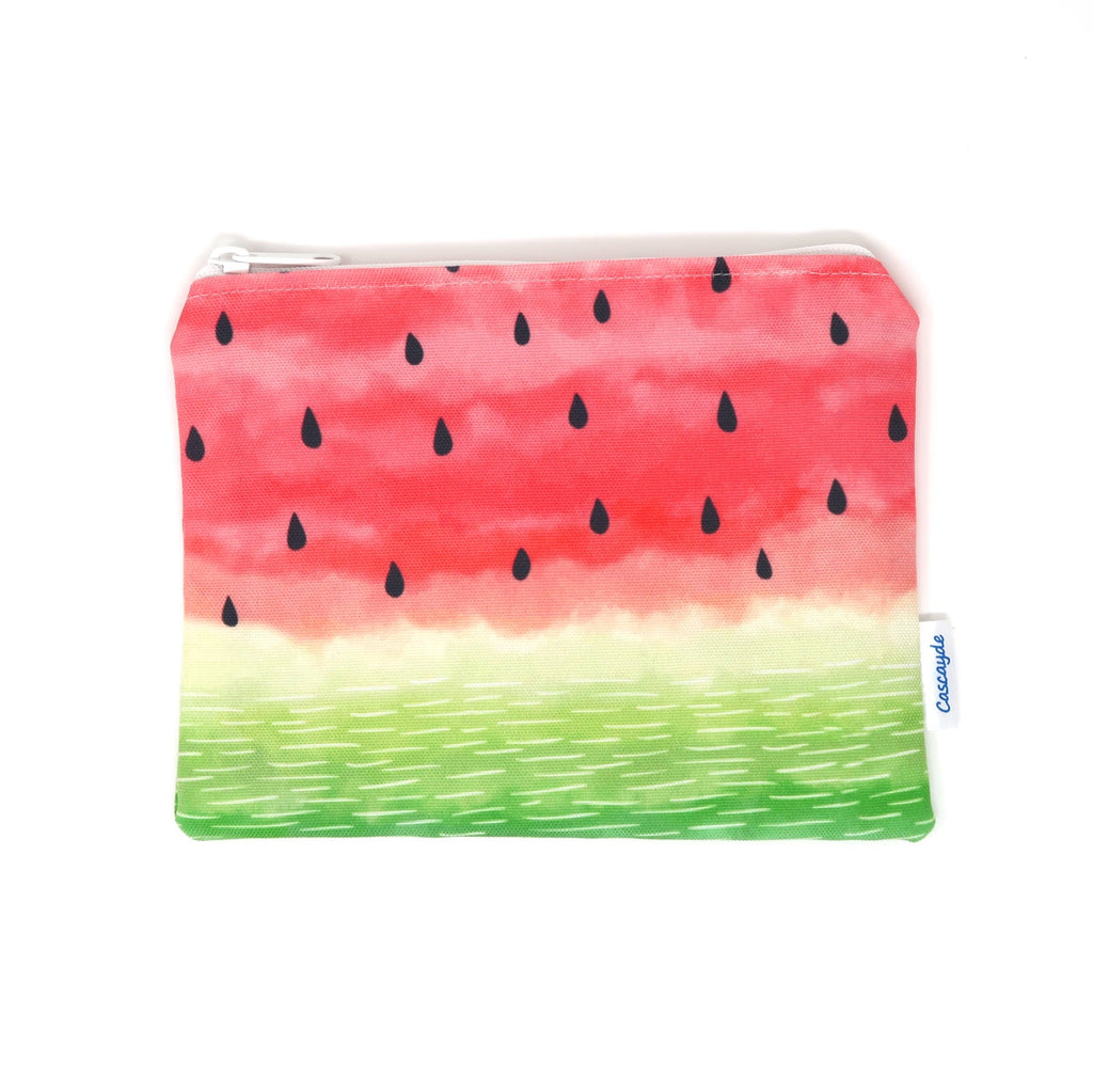 Watermelon zip bag