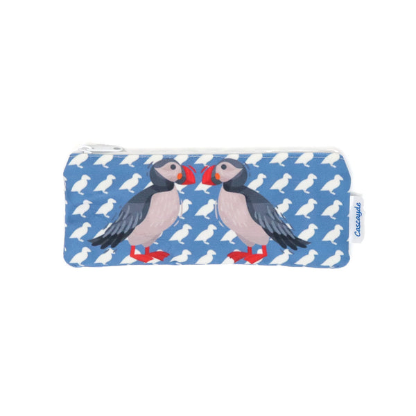 Puffin long zip bag