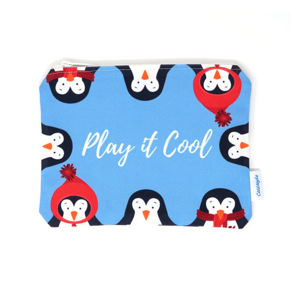 Play it Cool Penguin Zip Bag