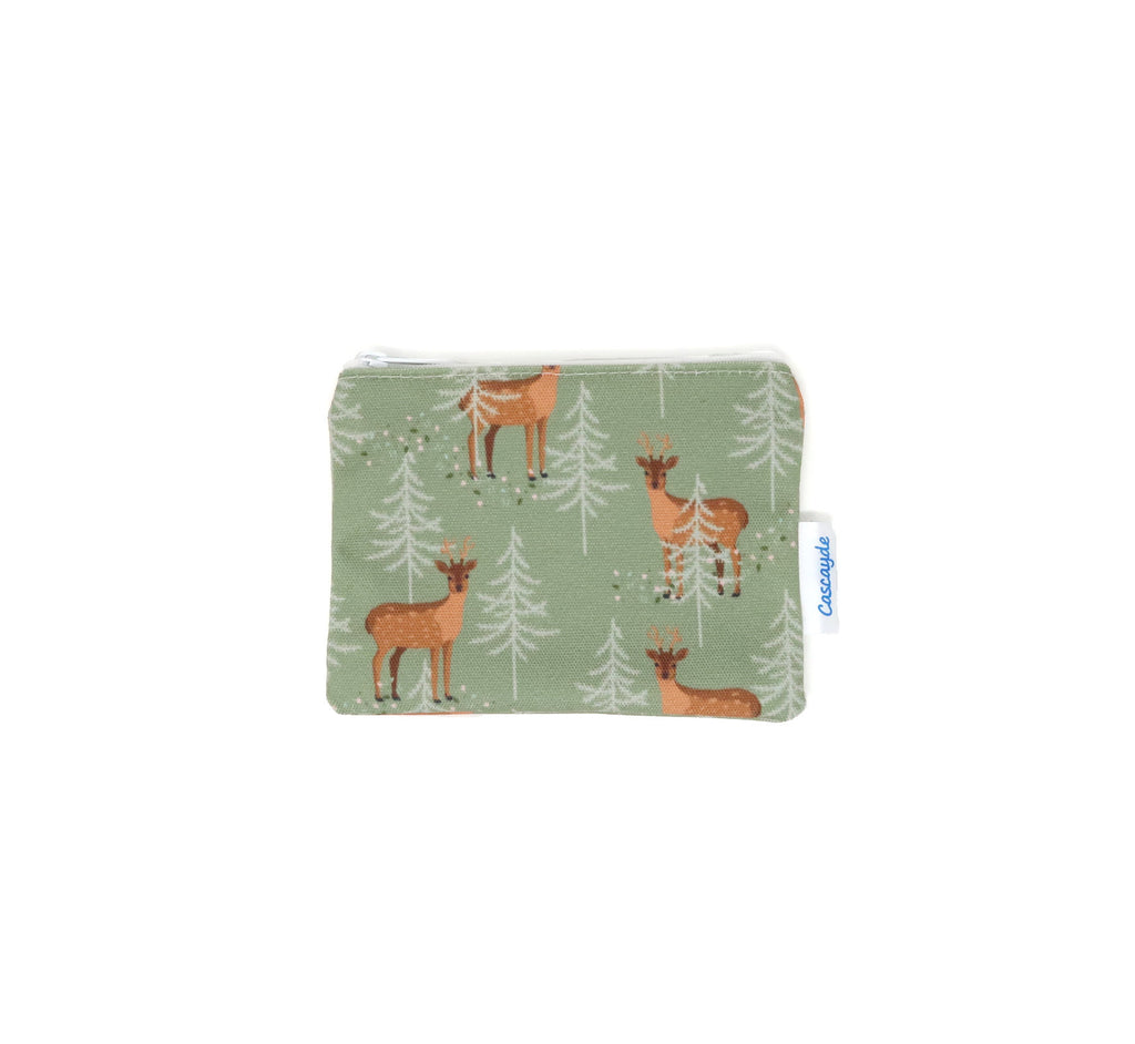 deer print coin purse