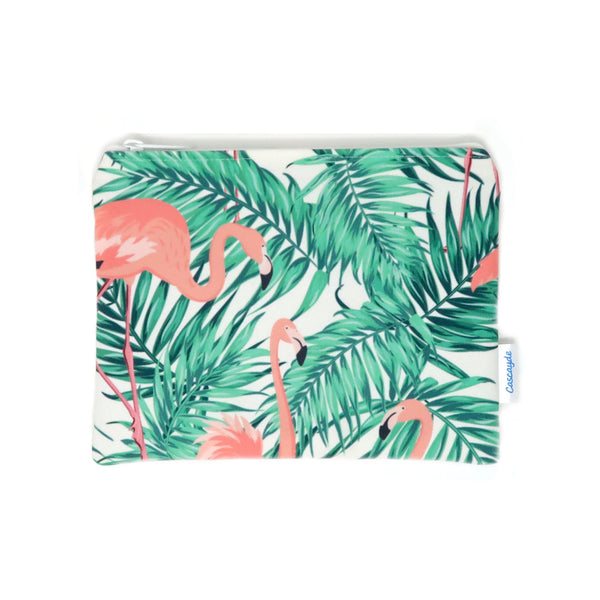 Flamingo Zip Bag