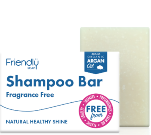 Shampoo Bar - Friendly Soap - Fragrance Free
