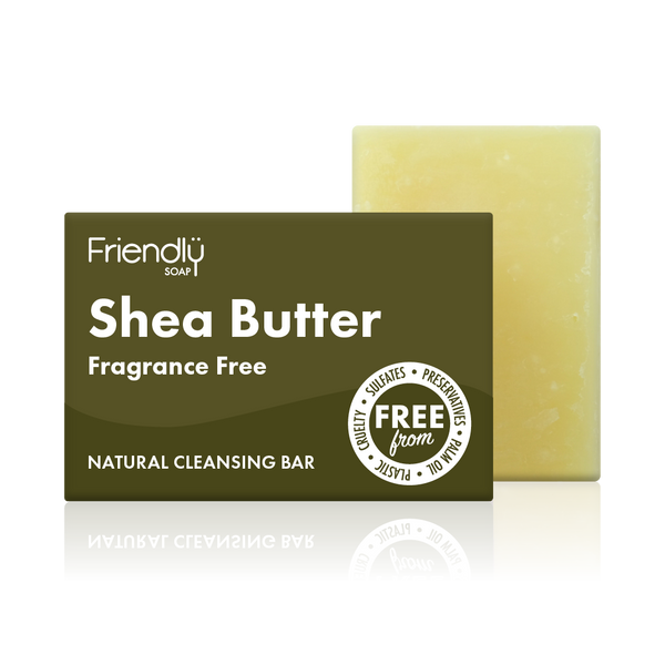 Shea Butter Cleansing Bar - Friendly Soap - Fragrance Free