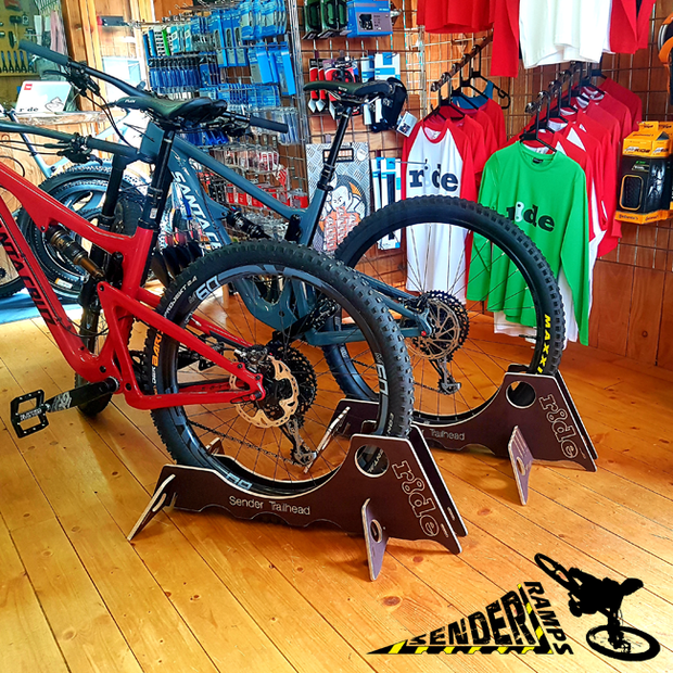 PACK OF 4 - BIKE SHOP DISPLAY TRAILHEAD BIKE STANDS