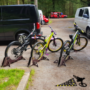 PACK OF 4 - TEAM TRAILHEAD BIKE STANDS