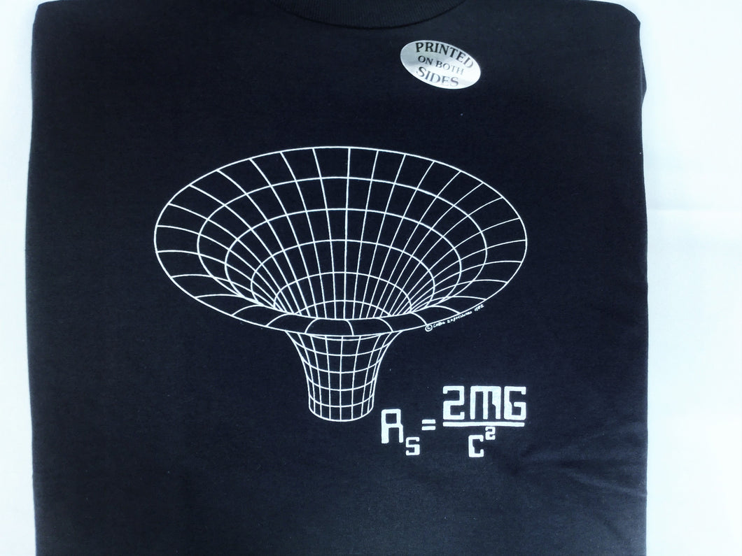 NAVY BLACK HOLE TSHIRT