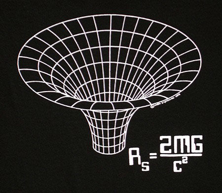 BLACK HOLE T-SHIRT