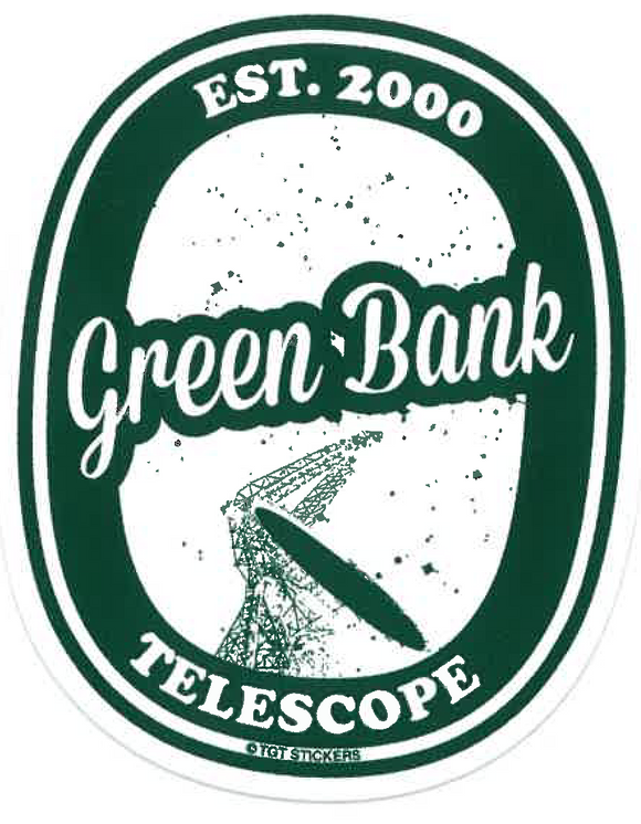 Green Bank Telescope Sticker