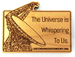 Universe is Whispering Magnet