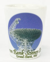 Green Bank Science Center Ceramic Shot Glass