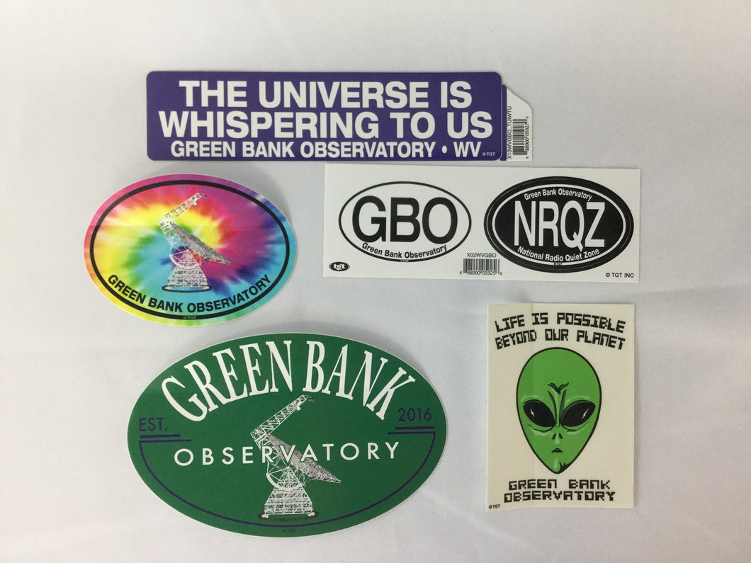 Green Bank Observatory Stickers