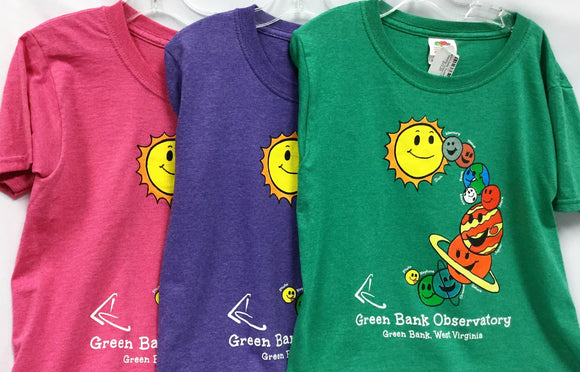 Children's Custom Solar System Tee