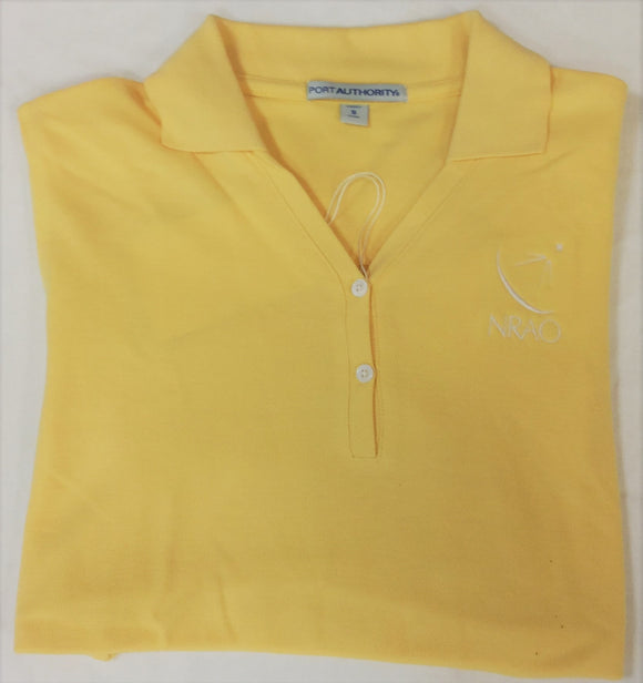 LADIESYELLOWPOLO