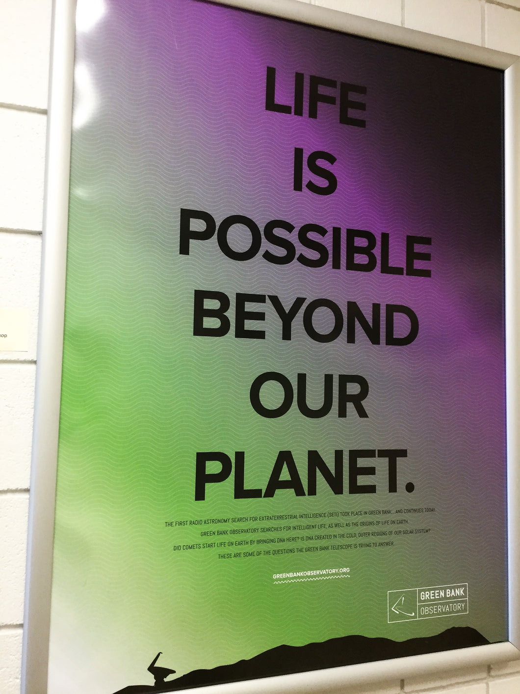 Life Is Possible Poster