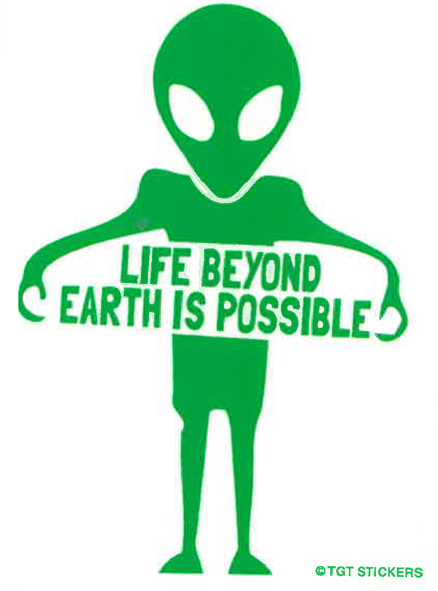 Life is Possible Sticker