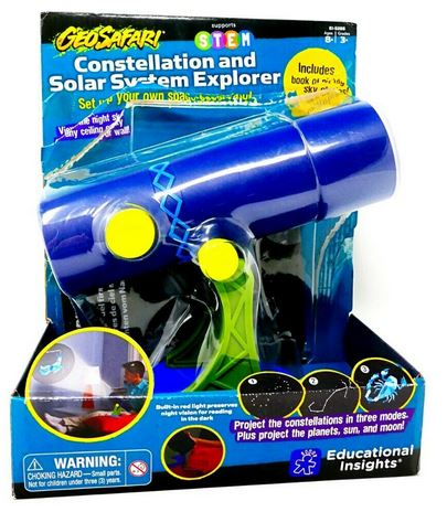 Educational Insights Geosafari Constellation & Solar System Explorer