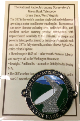 GBTNRAO HIKING MEDALLION