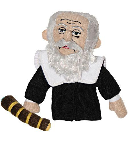 Galileo Finger Puppet and Magnet