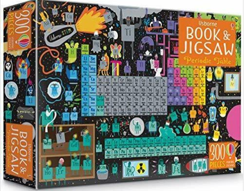 Periodic Table Book and Jigsaw Puzzle