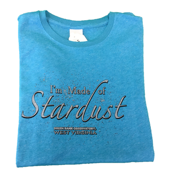 I'M MADE OF STARDUST BLUE