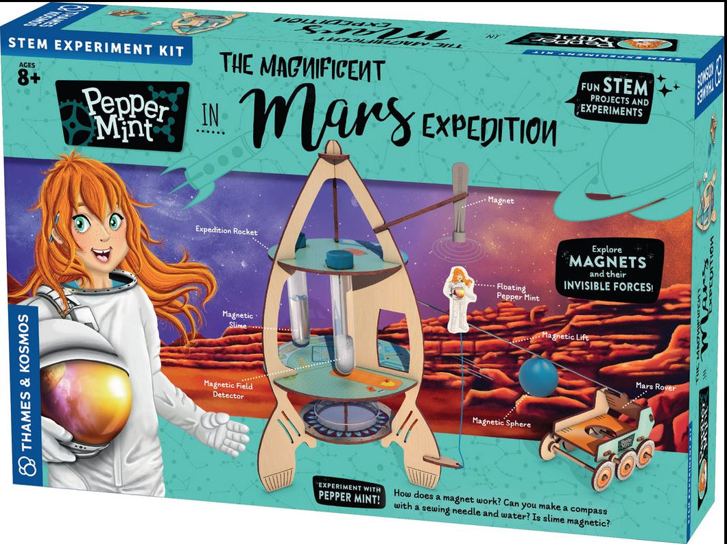 PepperMint Magnificent Mars Expedition