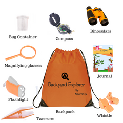 Backyard Explorer Kit - Great Nature learning toy for Camping, Hiking and Gift - Smartstoy